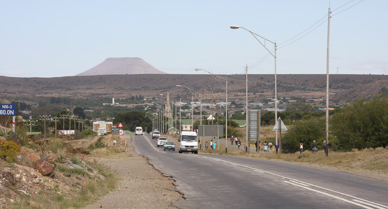 Approaching Cradock