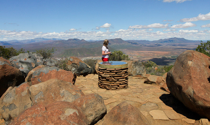 Toposcope lookout point, Camdeboo National Park