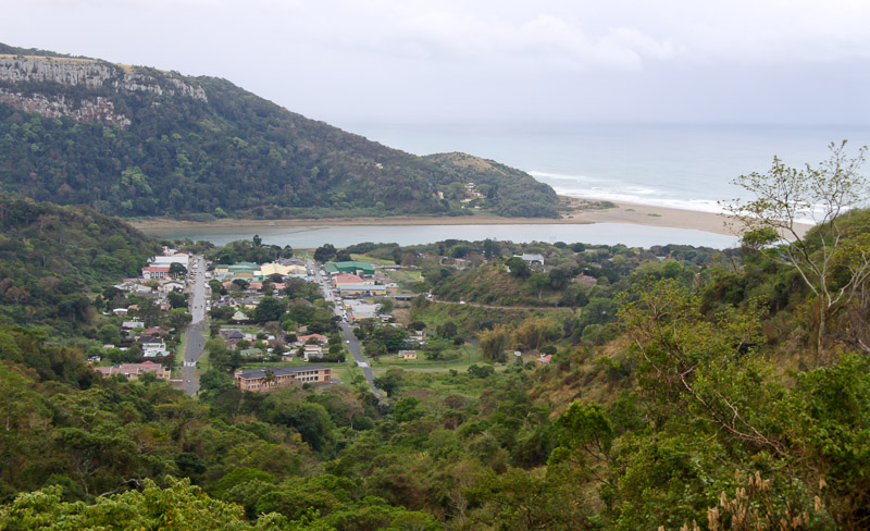 View over Port St. Johns