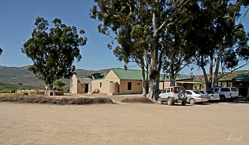 Information centre in Namaqua National Park