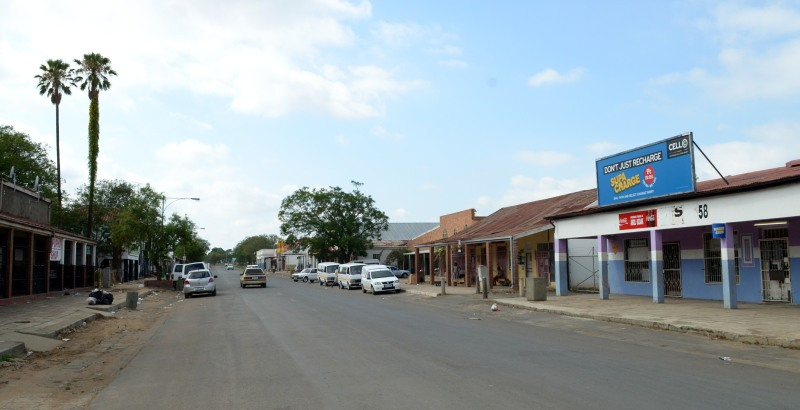 The main street through Colenso