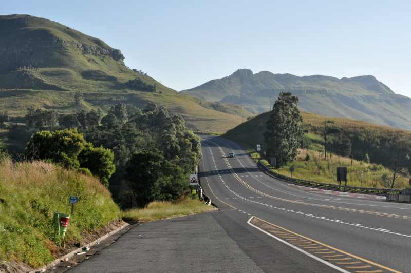 Van Reenens Pass offers some superb scenery