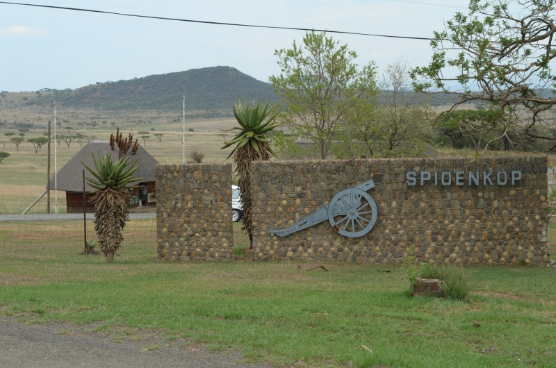 Entrance to Spioenkop Dam and Nature Reserve