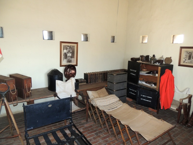 Officers room