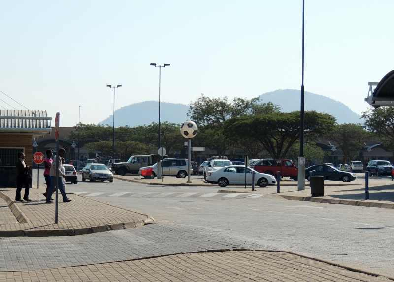 The town of Malelane is positioned on the edge of Kruger National Park