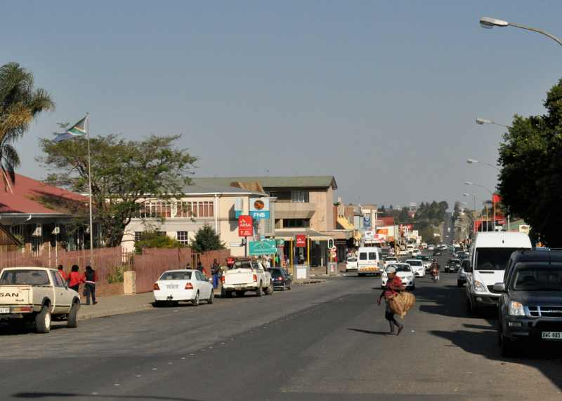 The busy town of Piet Retief