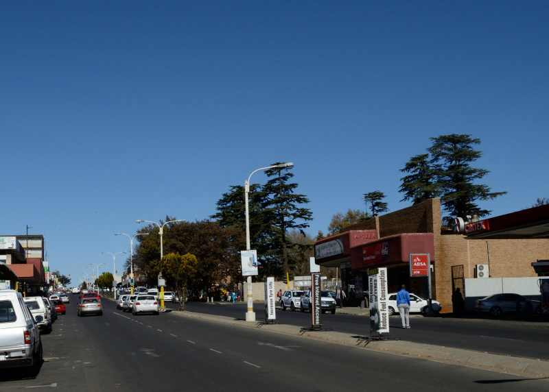 Ermelo is a large and busy town