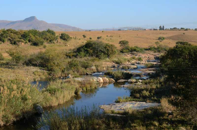 Komati River looking upstream from R38