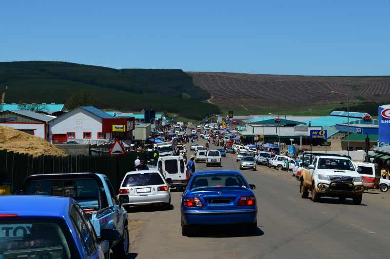 Busy street in Greytown
