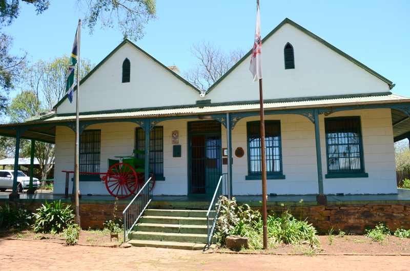 The Greytown Museum is contained in a house built in 1879