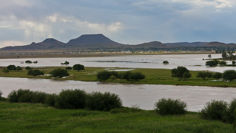 Bethulie across the Orange River