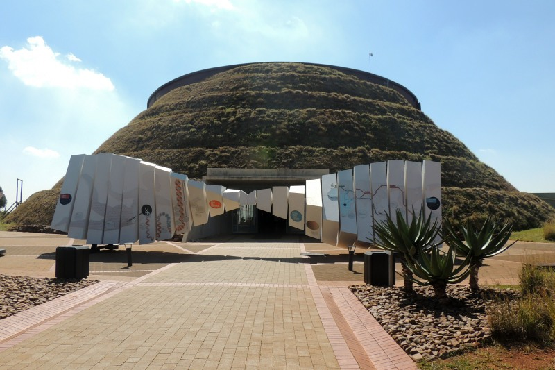 The Tumulus building